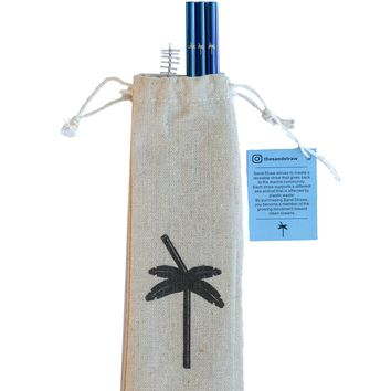 Dolphin Sand Straw Pack