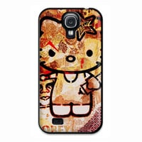 Obey Hello Kitty Design Love Cute Samsung Galaxy S4 Case