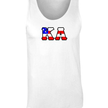 Kappa Alpha American Flag Tank Top