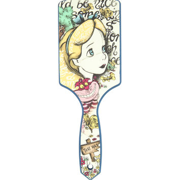Alice In Wonderland Chesire Cat Script Brush