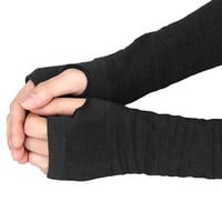 womens fashions  Wrist Gloves Arm Hand Warmer With Knitted Long Fingerless Gloves Mitten La signora Guanti invernali GS