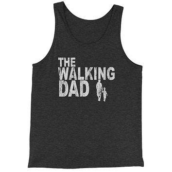 The Walking Dad Father's Day  Jersey Tank Top for Men