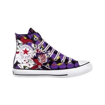 Converse All Star Hi Harley Quinn Athletic Shoe, Purple, at Journeys Shoes