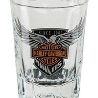 Harley-Davidson 115th Anniversary Limited Edition Shot Glass, 2 oz. HDX-98703