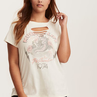 Music Festival Slashed Graphic Tee