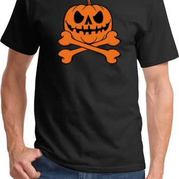 Halloween Pumpkin Skeleton T-shirt