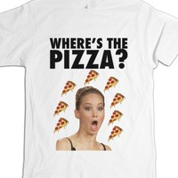 White T-Shirt | Funny Jennifer Lawrence Shirts