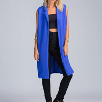Downtowner Double Slit Duster