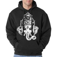 Mens Big Ganesha Hoodie - Made in America
