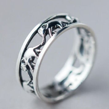 Handmade Elephant Ring
