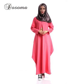 Muslim Women Abaya Kimono Islamic Sleeve Maxi Dress Robe Burka Pattern Turkey Instant Hijab Arab Traditional Prayer Clothing