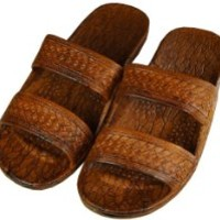 Pali Hawaii Classic Jesus Sandal (Brown, 9)