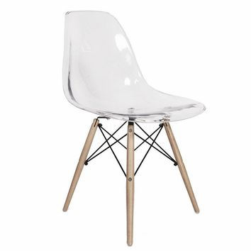 DSW Eiffel Clear/Transparent Chair  - Reproduction | GFURN