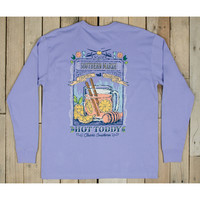 Southern Marsh Blue Cocktail Collection Tee- Hotty Toddy- Lilac