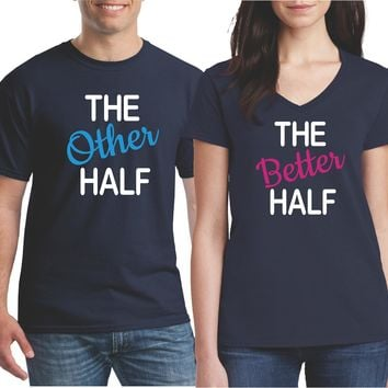 Matching Couples Shirts - Husband and Wife Shirts - Funny Couple Shirts