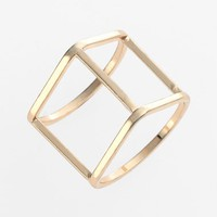 Women's Leith 'Space' Cage Ring