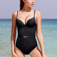Belted Push-Up One-piece - Secret by Victoria's Secret Swim - Victoria's Secret