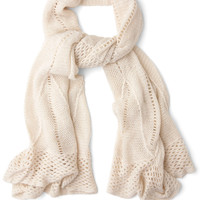 Heartwarming Up Scarf in Cream | Mod Retro Vintage Scarves | ModCloth.com