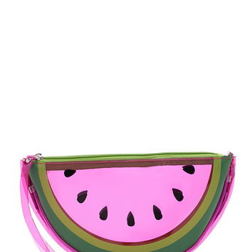 Watermelon Print Makeup Pouch