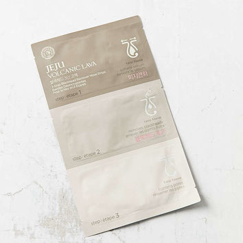 The Face Shop Jeju Volcanic Lava 3 Step Blackhead Remover Nose Strips - Urban Outfitters