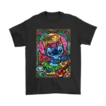 ESB3CR Stained Glass Style Dancing Stitch Shirts