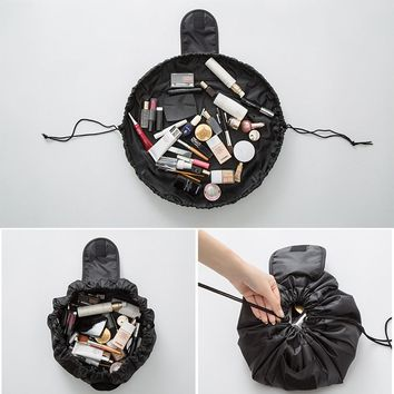 Easy Drawstring Makeup Storage Organizer