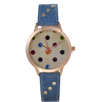 Designer's New Arrival Great Deal Awesome Gift Good Price Trendy Vintage Fashion Denim Stylish Ladies Luxury Watch [6047468353]