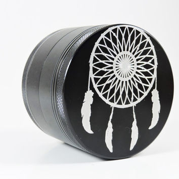 LARGE! Dream Catcher herb grinder- 2.5 inches-Free carrying bag