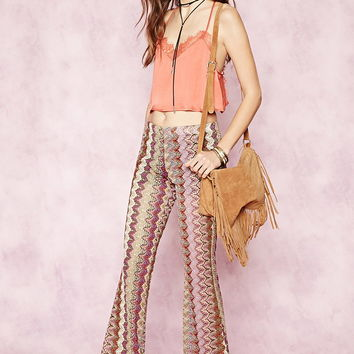 Zigzag Flared Pants | Forever 21 - 2000171522