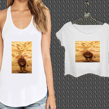 Lion King Remember Who You Are For Woman Tank Top , Man Tank Top / Crop Shirt, Sexy Shirt,Cropped Shirt,Crop Tshirt Women,Crop Shirt Women S, M, L, XL, 2XL*NP*