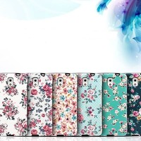 Floral iP Flower Bumper Girly Case for Galaxy Note 5