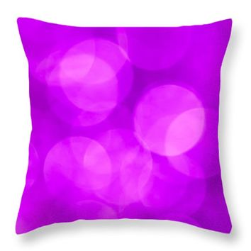 """Radiant Orchid Abstract Throw Pillow for Sale by Jan Bickerton - 14"""" x 14"""""""