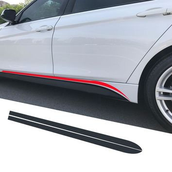Side Skirt Stripe Sticker Body Decal M Performance For BMW 3 Series F30 F31 F34 F35 320i 318d 316d 320d 328i 330d E60 E61