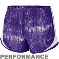 Nike LSU Tigers Ladies Seasonal Tempo Performance Shorts - Purple