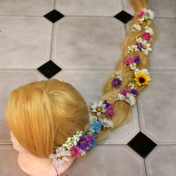 Rapunzel Wig from  Disney Tangled for princess costume/cosplay (party,dress,halloween,birthday,christmas,present,queen,carnival,children...)