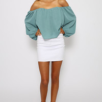 Charlize Top - Teal