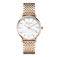Rose gold ladies watch The Upper East Side - rose gold strap | ROSEFIELD Watches