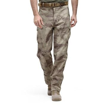 Shark Skin Softshell Tactical Military Camouflage Pants