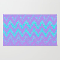 disappearing chevron Rug by Marianna Tankelevich