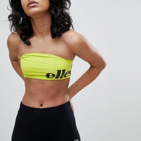 Ellesse Bralet With Wraparound Contrast Logo at asos.com