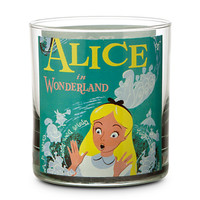 Disney Parks Attraction Poster Short Glass Tumbler - Alice in Wonderland/Mr. Toad's Wild Ride