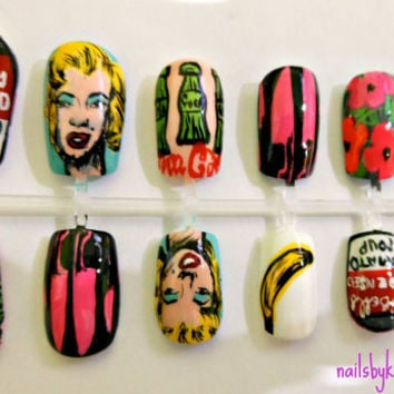 Andy Warhol Famous Works Nail Set