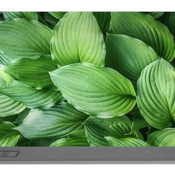 Beautiful Green Arc-shaped Leaves Portable Battery Charger