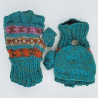 Patterned Convertible Mittens