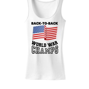 Back to Back World War Champs Womens Tank Top