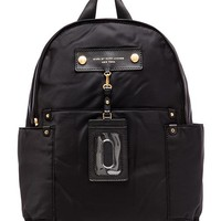 Marc by Marc Jacobs Preppy Nylon Backpack in Black