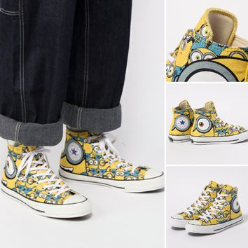 Minions x Converse All Star 100 HI High Top Sneaker 1CL014