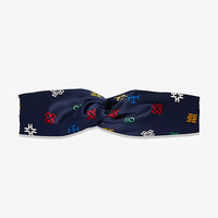 Tory Burch David Hicks Alphabet Headband
