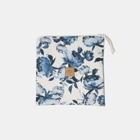 Floral waterproof pouch