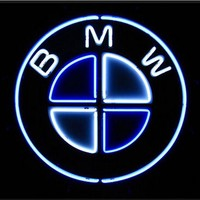 BMW Auto Car Neon Sign Real Neon Light